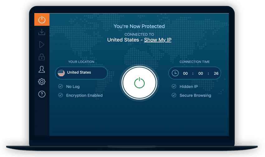 Ivacy VPN review Screenshot