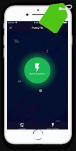PureVPN Mobile device