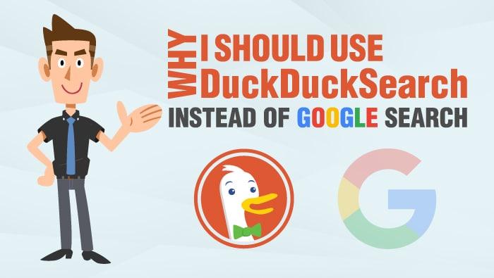 Duck Duck go vs google