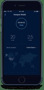 Hotspot Shield mobile