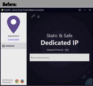 Purevpn IP Before
