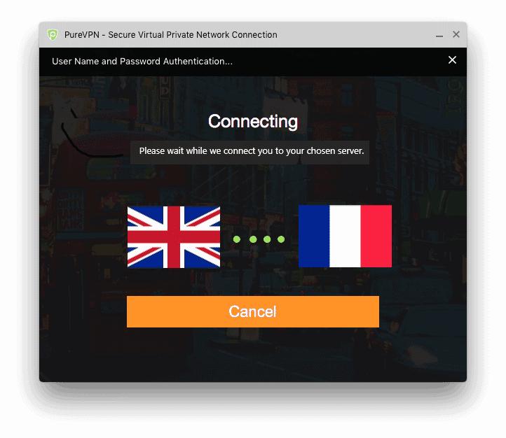 purevpn connect