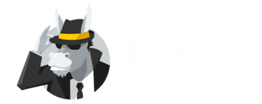 Hide My Ass Logo white