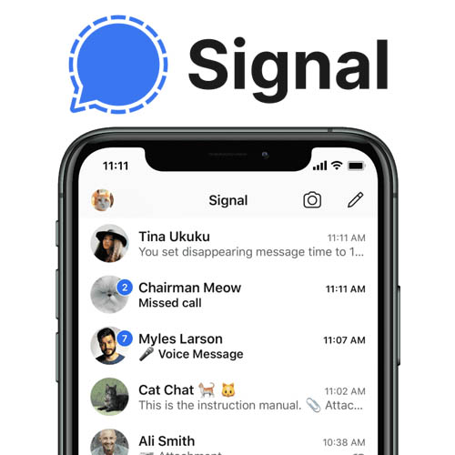 Signal chat