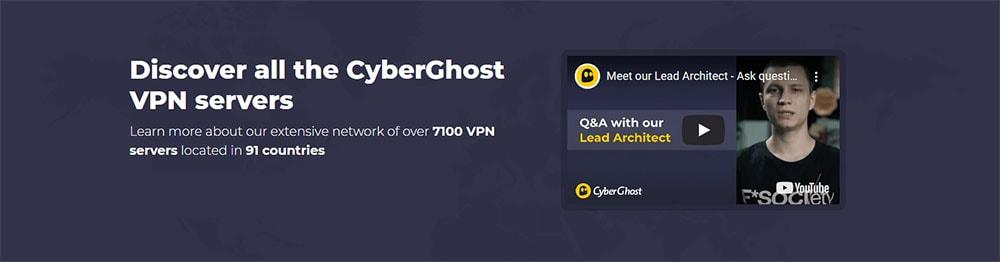 Cyberghost servers
