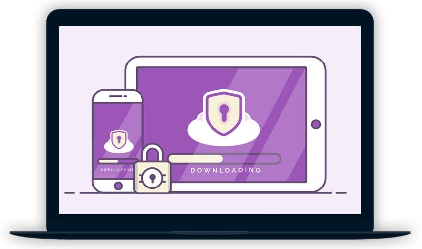 Private VPN desktop