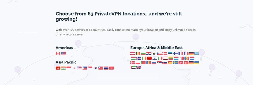 Privatevpn servers